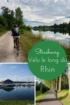 Idée d'itinéraire pour une balade à vélo autour de Strasbourg, entre France et Allemagne