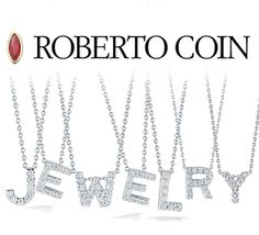 A beautiful Initial Pendant never goes out of style, so take it to the next level with our Roberto Coin Diamond Initial Necklaces! #robertocoin #designer #fashion #style #letternecklaces #initialnecklaces #diamondnecklaces #giftideas #giftsforher #tarafinejewelrycompany