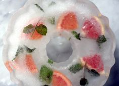decorative ice ring