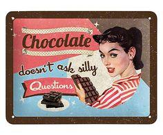 Placa Decorativa Chocolat