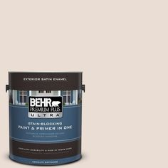 BEHR Premium Plus Ultra 1-gal. #700C-2 Malted Milk Satin Enamel Exterior Paint