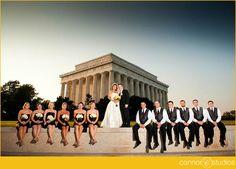 lincoln memorial wedding photos - Google Search