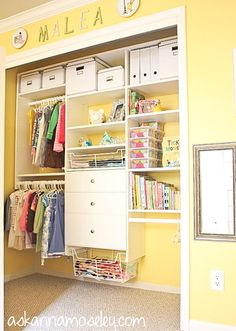Organized Space and a $500 Home Depot Giveaway - Ask Anna