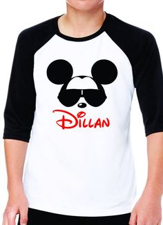 Boys Disney Shirt - Mickey Sunglasses (baby-youth sizes)