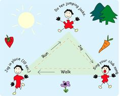 triangle training for kids running club