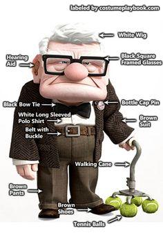 Up - Carl Fredricksen senior outfit
