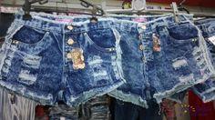Short's jeans ragadinho