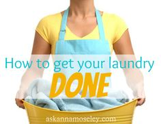 A simple, and organized, way to get laundry done -- Ask Anna