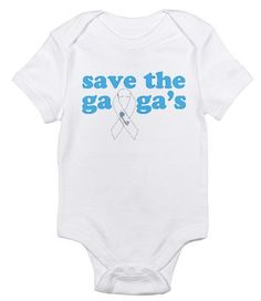 Save the Gaga's prolife Baby Jumper by COANativeMission on Etsy, $28.00