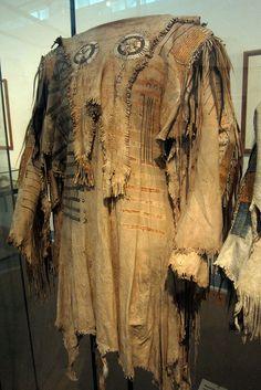 Blackfeet Men's Shirt (1820), Dahlem Museum, Berlin | Flickr - Photo Sharing!