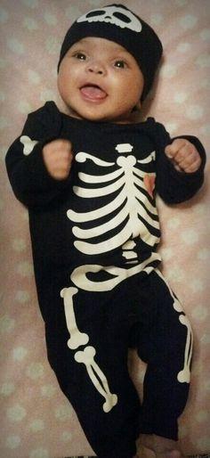 Halloween sleeper, mixed baby