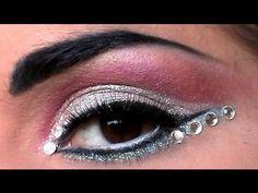 Crystal eyesed makeup tutorial at video.agaclip.com