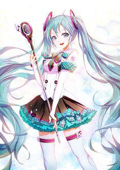 Page 2 Read : ( Vocaloid ) Hatsune Miku from the story Ảnh anime , couple , yaoi , yuri, quotes . Anime Chibi, Chica Anime Manga, Anime Art, Beautiful Anime Girl, I Love Anime, Manga Girl, Anime Girls, Lolis Neko, Vocaloid Characters