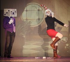 Me with King Dice :D  #cosplay #cuphead #kingdice #videogame