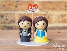 Batman groom and Snow White bride https://www.facebook.com/genefyplayground