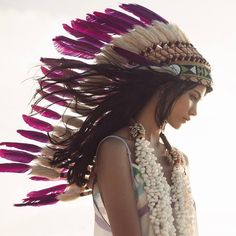 Pink Headdress ONLINE available at Novum Crafts