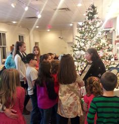 Our 2017 children's holiday program is coming up on Dec. 2! Please call to register at 740-772-1936