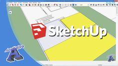 Curso de SketchUp – Módulo Intermediário – Aula 05/29 Modelagem dos Piso...