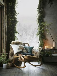 32 Living Room Decor For Your Perfect Home This Winter - Futuristic Interior Designs Technology Noel Christmas, Rustic Christmas, Christmas Pillow, Xmas, Christmas Design, Christmas Ideas, Christmas Crafts, Elle Decor, Navidad Natural
