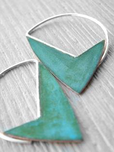 great geometric earrings