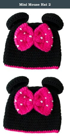 Mini Mouse Hat 2. Turn your little one into a miniature mini mouse! this adorable hat comes complete with an over sized pink bow - mini would just love it.