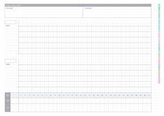 【無料】iPadのノートアプリでも使える!ノートやスケジュール手帳/カレンダー/ガントチャートのPDFテンプレートまとめ   KERENOR { ケレンオール } File Share, Good Notes, Planner Template, Schedule, Free Printables, Language, Study, Japanese, Templates