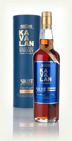 Kavalan Solist Vinho Barrique // 2015 World Whiskies Award (deemed best single malt whiskey on early)