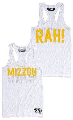 {adorable MIZZOU RAH tank!}