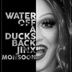Jinx Monsoon Text Portrait