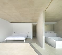Bright and minimal bedroom