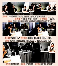 Jensen and Misha love