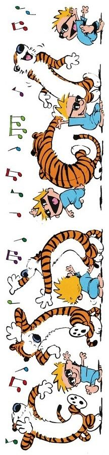 Calvin and Hobbes... Let's Dance!