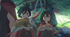 chiisana Eiyuu: Kani to Tamago to Toumei Ningen Tales From Earthsea, Kuzu No Honkai, Japanese Animated Movies, Studio Ghibli Art, Kyoto Animation, 2018 Movies, Miyazaki, My Hero Academia Manga, Akita