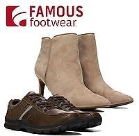 Up to 75% Off Sale & Clearance + #Extra 15% Off | Famous #Footwear  https://couponash.com/deal/up-to-75-off-sale-clearance-extra-15-off-famous-footwear/165870