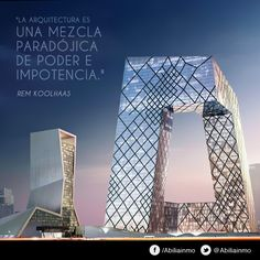 Rem Koolhaas - Holanda, 1944 (67 años) #arquitectos