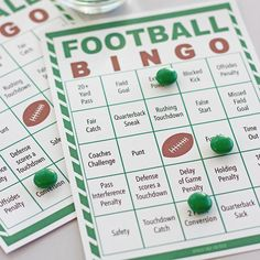 Free Printable Football Bingo for Game Day Fun | Sunny Day Family American ExpressDinersJCBMasterCardPayPalSelzVisa