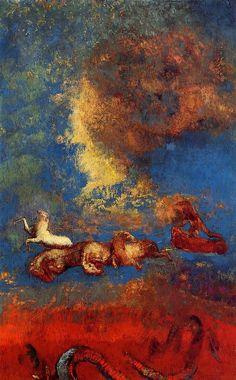 Odilon Redon , Apollo's Chariot