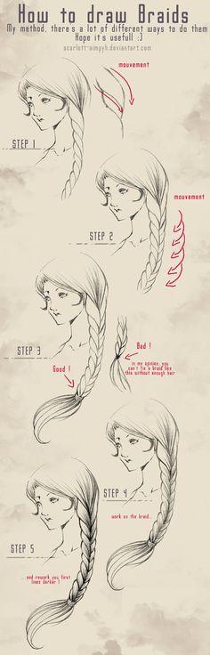 088 - Training  - Braids by Scarlett-Aimpyh.deviantart.com on @deviantART