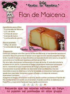 Flan de maicena in 2019 Jello Recipes, Mexican Food Recipes, Sweet Recipes, Baking Recipes, Cake Recipes, Dessert Recipes, Custard Desserts, No Bake Desserts, Easy Desserts