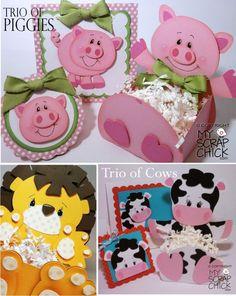 lindos dulceros de animalitos :)