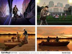 FamousFrames Storyboards, Animatic Artists, Storyboard Artists, David Case