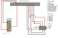 pinout image of usb wiring ipod dock connector diagrams rh pinterest co uk Boat Wiring Diagram Printable Electrical Wiring for Floating Docks