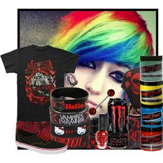 """Stars can't shine without darkness"" by nyxrosser on Polyvore"