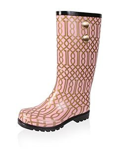 Nomad Footwear Womens Puddles II Rainboot Pink Trellis 11 M US -- Want to know more, click on the image.