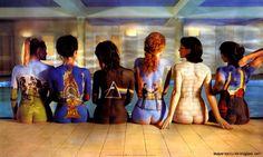 Body Paint  A Pondering Mind Pink Floyd Back Catalogue, Arte Pink Floyd, Pink Floyd Music, Pink Floyd Album Covers, Pink Floyd Albums, Storm Thorgerson, Atom Heart Mother, Progressive Rock, Rock Bands