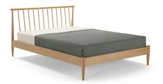 Penn Kingsize Bed, Oak £499.99 at made.com