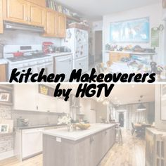 We just ♥️ these kitchen makeovers by HGTV