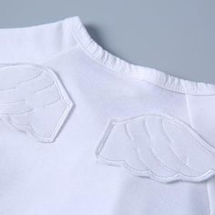 Fresh Wing Decor Strappy Jumpsuit for Baby