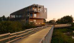visitor centre vattenriket by white arkitekter. SWEDEN.