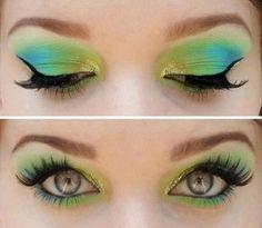 Green & Blue!